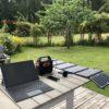 Bærbar solcellegenerator